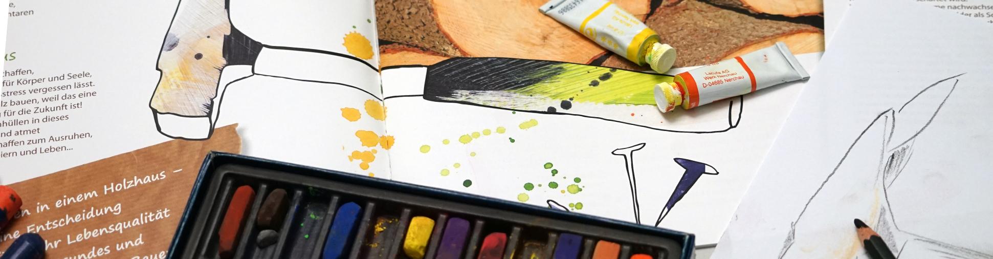 Werbeagentur in Büren erstellt Illustrationen und Logos