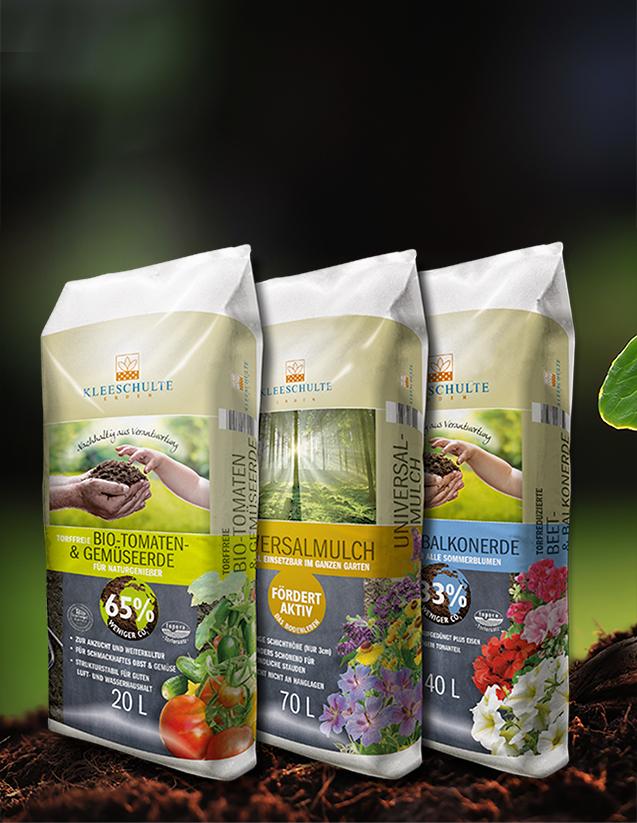 Produktdesign für Kleeschulte Erden