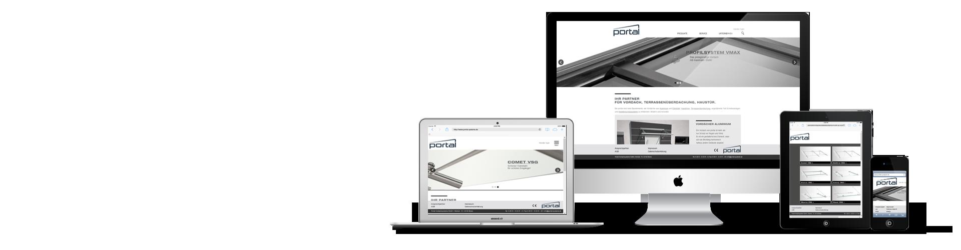 Webdesign von Werbeagentur ProjectPartner