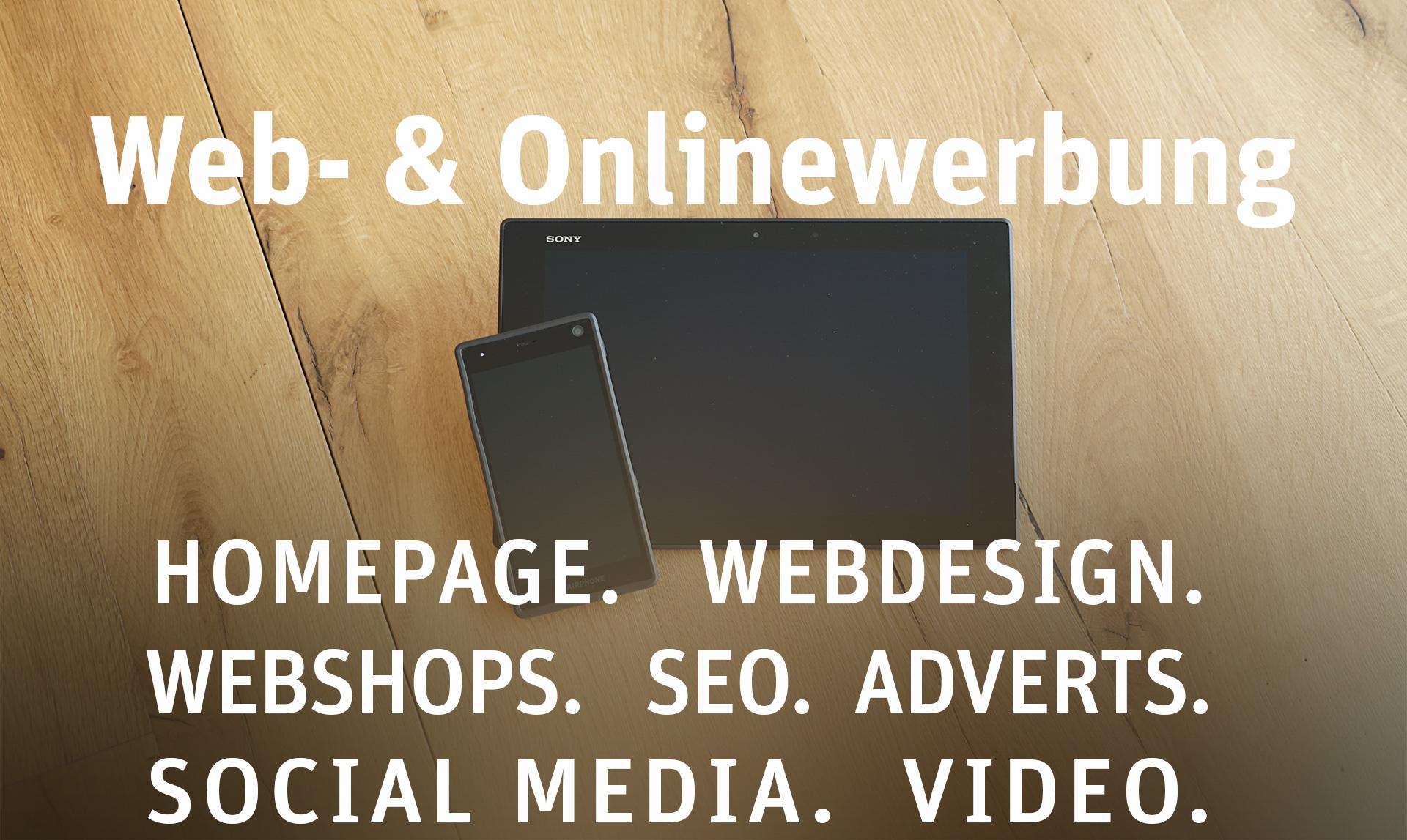 Leistungen von ProjectPartner - Webseiten und Webdesign