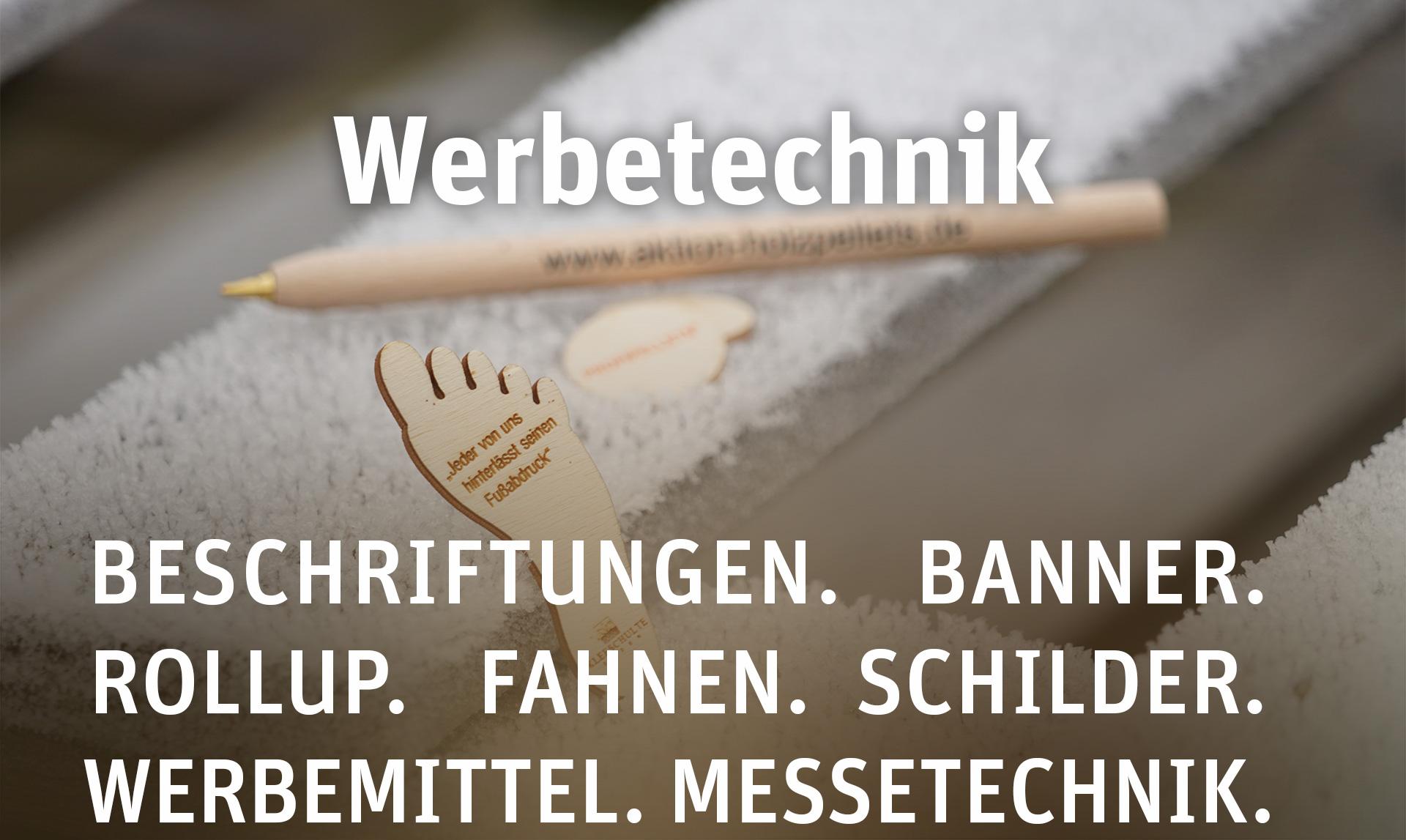 Leistungen von ProjectPartner - Werbetechnik