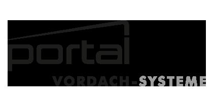 Logo portal vordach systeme