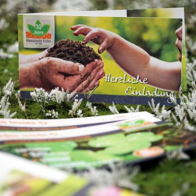 Flyer und Broschüren für Unternehmen und Produkte