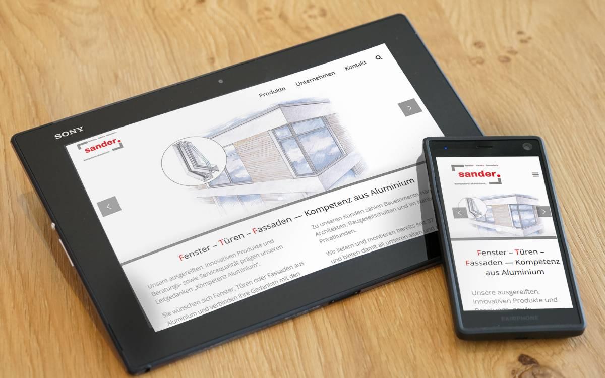 responsive Webdesign durch ProjectPartner Büren
