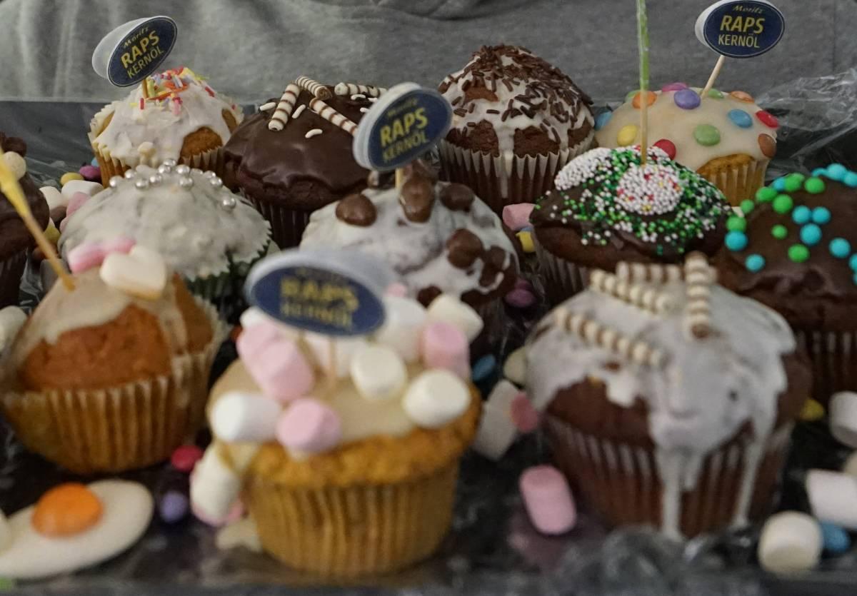 Foto von Muffins vom Moritzmarkt fuer projectpartner kleeschulte