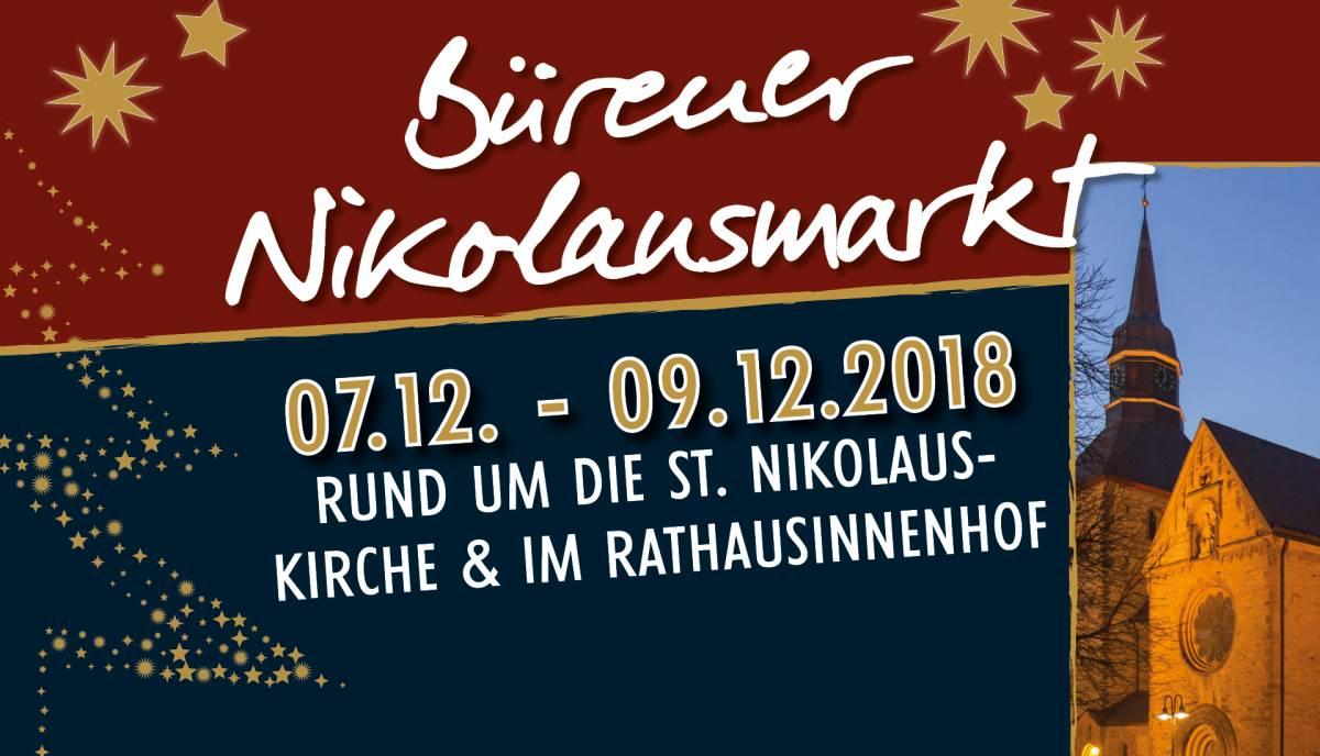 Nikolausmarkt in Büren