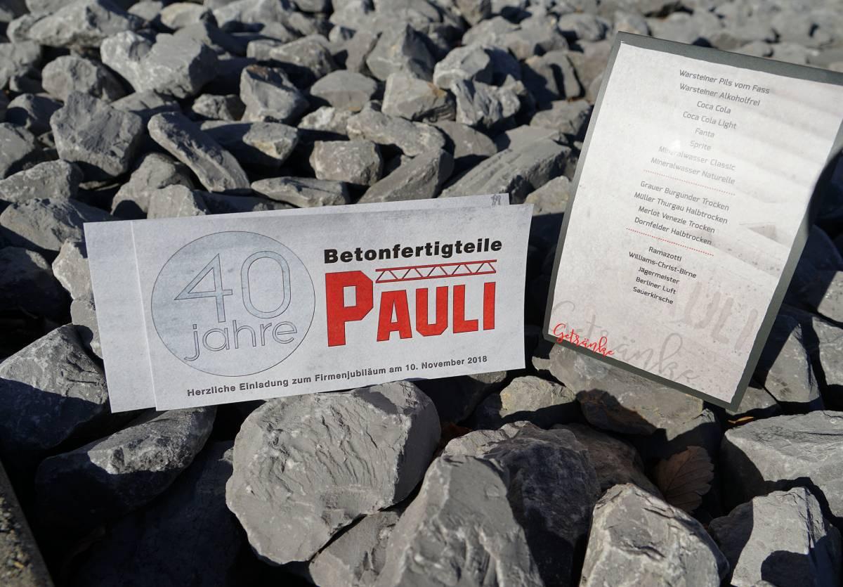 Neues Design für Pauli