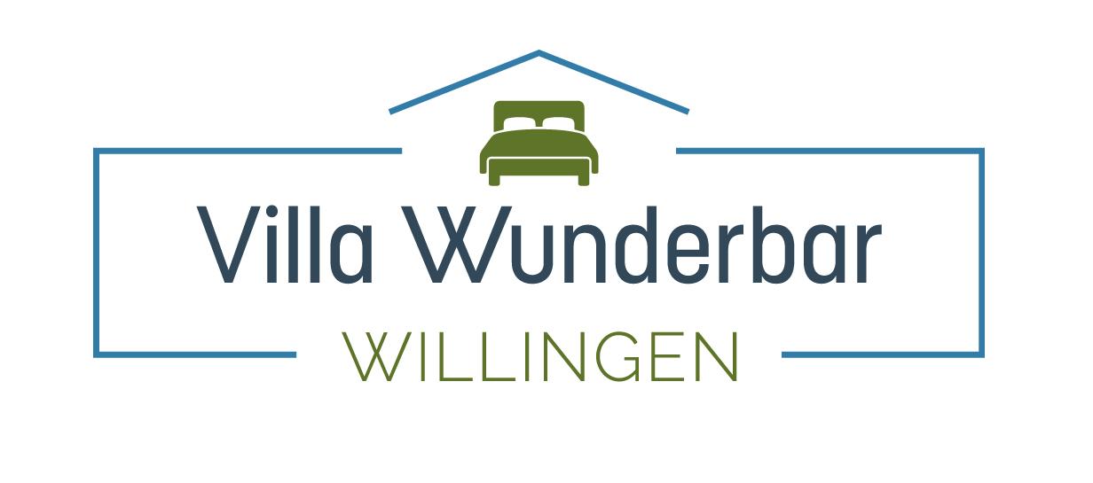 Logodesign für Villa Wunderbar Logo- Ferienhaus Willingen
