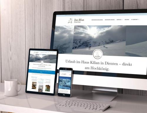 Neue Webseite für Ferienwohnungen jetzt live!
